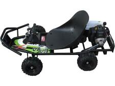 ScooterX Baja Kart 49cc Black/Green Gas 2 stroke 2 cycle Off Road Go Kart 32MPH
