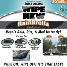 2pcPack Wipe New RainBrella Car Windshield Glass Treatment Repels Rain,Mud,Dirt