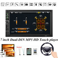 7inch Dual-DIN Car MP5 HD Touch Screen Player 1080P FM Bluetooth Reversing Image