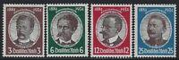 Germany - 1934 - Scott # 432 thru 435 - Complete Set - Mint OG Never Hinged