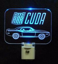 Personalized Custom Cuda LED Night Light - Cars Vehicles
