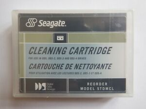 Seagate Tape-Stor DDS DAT Cleaning Tape/Cartridge 4mm 91301 NEW