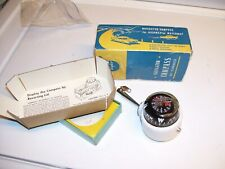 Vintage 1970's nos w box Taylor auto car gauge service compass gm street rat rod