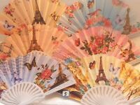 Joblot of 20 pcs Wooden Hand Fan display stands NEW Wholesale