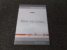 1991 Alfa Romeo 164 2.0L V6 Turbo Product Bulletin Shop Service Repair Manual
