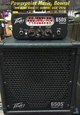 Peavey Piranha 6505 20W Guitar Amp Micro Stack Head + Cab (Shop Demo SALE)