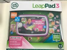 LeapFrog LeapPad 3 Kids' Learning Tablet  Pink .  New Open Box