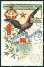 Militari 59º 60º Reggimento Fanteria Brigata Calabria cartolina XF5145