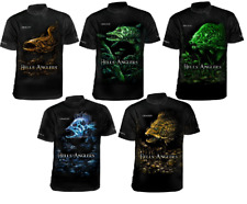 DRAGON T-SHIRT HELLS ANGLERS BREATHABLE ClimaDRY PIKE PERCH ZANDER UK LURES NEW