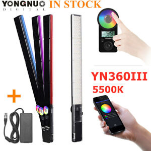 YONGNUO YN360III 5500K Handheld LED Video Studio Light Stick Photography Lights