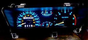 1984-1992 Lincoln Mark VII Gauge Instrument Cluster - LED bulb upgrade! 84-92