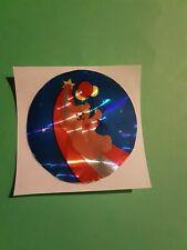 vintage 80's sandylion prism teddy bear sticker *restored*(free ship $20 min)
