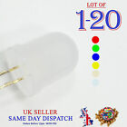 10mm Ultra Bright Milky Diffused LEDs Diode Red Blue Green Yellow