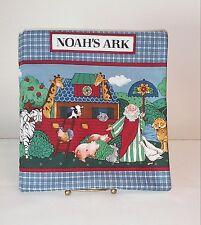 VIP Cranston Noah's Ark childrens baby soft story book quilt fabric cotton