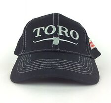 TORO Turf Star 100 Years A Century of Innovation Black Baseball Cap Hat Adj