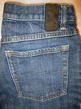 Express W20  Flare Leg Stretch Womens Blue Denim Jeans Size 4 S x 29