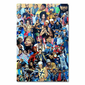 Legends-of-All-Rapper-Hip-Hop-Music-Poster-Print-Wall-Art-Living-Room-Decoration