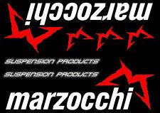 Marzocchi Bike Forks Suspension Decals Stickers Graphic Set Vinyl Black