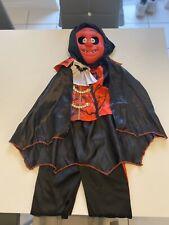 Boys Vampire Costume And Mask 2-3 Years