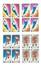 Mongolia Scott #1717-20 - Winter Olympics, Calgary - 4V Blocks of 4 Stamps - MNH