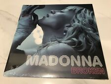 "VERY RARE / Sealed MADONNA ""Broken"" 2010 ICON FanClub Limited 12"" LP Single"