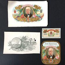 Rare Collection Cigare Epoque 1900 Vista Antique Cigar Band CUBA Bauchbinden