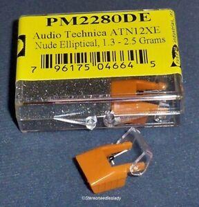 NUDE DIAMOND NEEDLE EV PM2280DE for Audio Technica ATN-12XE AT-12XE 201-DEX