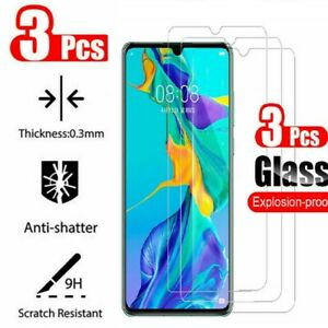 3Pcs Tempered Glass Screen Protector For Huawei honor Mate 20 30 P10 P20 P30 P40