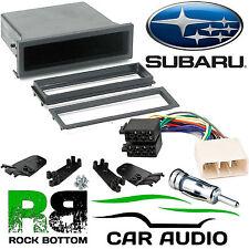 Subaru Impreza 93-05 Car Stereo Radio Universal DIN E Fascia Pocket Fitting Kit