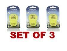Sea To Summit Trek & Travel Pocket Laundry Wash -Green Tea Scent (SET OF 3)