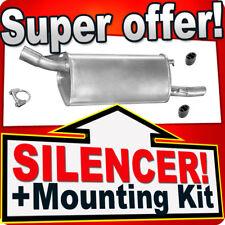 Rear Silencer Opel Corsa  B 1.5 1.7 D TD 1.4 60/82 PS 1.2 93-00 Exhaust Box HHX