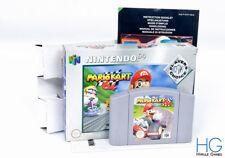 Mario Kart 64 Boxed - N64 Nintendo 64 Retro Game Cartridge PAL
