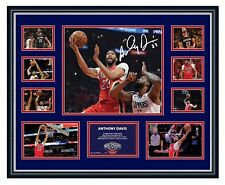 ANTHONY DAVIS NEW ORLEANS PELICANS SIGNED FRAMED LIMITED EDITION MEMORABILIA