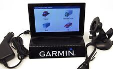 "Garmin Dezl 580 5"" GPS Navigator for Trucks Bus Car Lifetime Map HD traffic"