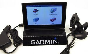 Garmin Dezl 580 LMT-S 5 Inch GPS Navigation System Trucks Black Friday special