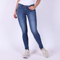 Levi's 710 Super Skinny La Vie Blau Damen Jeans DE 32 / US W25 L32