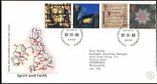 GB FDC 2000 Spirit And Faith, Bureau H/S #C22990