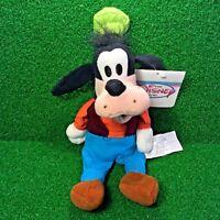 NEW Disney Store Exclusive Mini Bean Bag GOOFY Retired Plush Toy - FREE Shipping