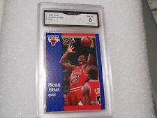 Michael Jordan GRADED CARD!! 1991 Fleer #29 Chicago Bulls HOFer! 8%-1