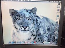 PC HACKINTOSH MAC OS SNOW LEOPARD  + WINDOWS INTEL DUO CORE +2GB RAM  HARD DISK