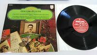 Giacomo Puccini Turandot Madama Butterfly LP Vinyl VG + Spanisch Ed Philips