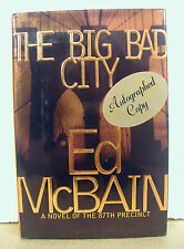 The Big Bad City by Ed McBain 1999 HB/DJ Signed First Printing