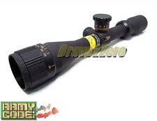 BSA 3-12x40 Sweet Series Duplex Crosshair AO Rifle Scope 17 HMR / 17GR