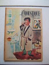 DUPUIS / LE MOUSTIQUE / NUMEROS 1219 / JUIN  1949  /  COUVERTURE  WILL