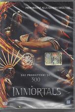 Dvd Video **IMMORTALS** dai Produttori di 300 Nuovo Sigillato 2011