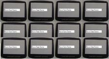 LOT of 50 Plastic Replacement Screens lenses For Game Boy Advance System console