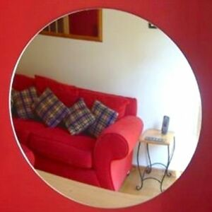 Round Acrylic Safety Mirrors (Several Sizes Available)