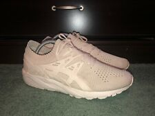 Asics Gel Kayano Trainer Knit Beige Size 10.5 Mens Lightly Worn Great Condition