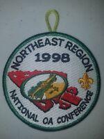 Boy Scout OA 1998 NOAC Northeast Region Patch
