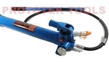 Pompa idraulica manuale 30 t lunghezza pompa 550 mm diametro 55 mm tubo 1400mm